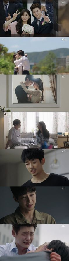 "[Spoiler] ""While You Were Sleeping - 2017"" Lee Jong-suk and Suzy get happy ending, Lee Sang-yeob gets life sentence"