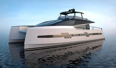 Euphoria Serie 6 power catamaran concept from Privilege Marine