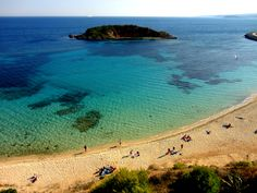 Bendinat (Portals) Beach, Palma de Mallorca, Spain.  Just round the corner from Puerto Portals