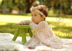 Outdoor Photography, Infant Photography, Romantique BeBe Clothing Line, Portrait, FireFly Photography