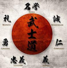 O Bushido Ou Caminho Do Guerreiro Uma Espcie De Cdigo Conduta Que Era Levada Muito A Srio Pelos Samurais Se Trata Regras Baseadas Em