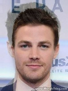 Stephen Amell(arrow) + Grant Gustin(flash) Awww he would be so adorable... He has the adorable parts of Grant and the sexiness of stephen lol