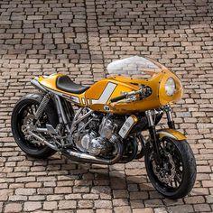 """""""Suzuki GT 750 """" Wasserbüffel"""". (Via Rocket Garage Café Racer). #suzuki #motorcycle #caferacer #motorsports #tw"""