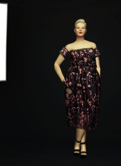 Lana CC Finds - S4 Pattern Off-Shoulder Dress by Mother of Pearl...