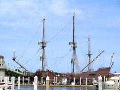 El Galeon at St. Augustine Municipal Marina