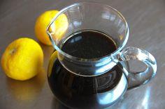 PONZU SAUCE  1/2 cup soy sauce 1/4 cup rice vinegar 1/4 cup citrus juice