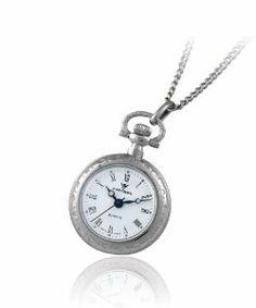 Catorex Women's 675.1.12364.110 Les petites rayonnantes White Dial Second Hand Palladium Brass Pendant Watch Catorex. $233.75