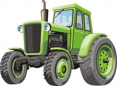 Illustration of Old green tractor for agriculture works vector art, clipart and stock vectors. Agriculture Tractor, Truck Decals, Green Photo, Floral Illustrations, Wall Murals, Wall Decal, Green Colors, Painting & Drawing, Elf