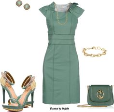 """""""TEAL IN THE SPRING!!!"""" by marion-fashionista-diva-miller ❤ liked on Polyvore"""