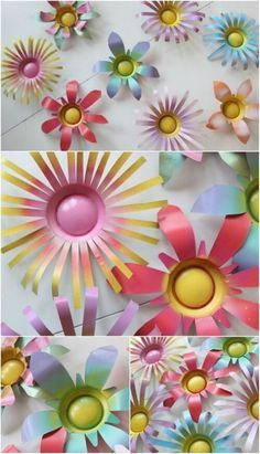 20 Genius Ways to Recycle Soda Cans into Amazing DIY Projects If you tend to drink a lot of soda, chances are you have a lot of soda cans lying around the house. Even if you typically recycle those cans for cash, there are things that Soda Can Flowers, Tin Flowers, Water Bottle Flowers, Aluminum Can Crafts, Metal Crafts, Aluminum Can Flowers, Upcycled Crafts, Repurposed, Recycled Art Projects