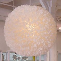 I saw a lamp very similar to this at Ikea.. Would love to create a space for it!