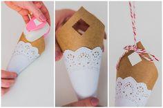 Diy: aprenda a fazer cone de papel decorado