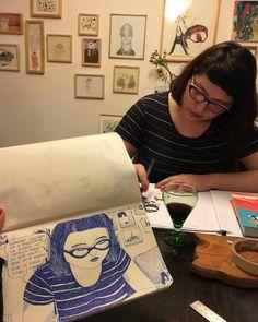 Dibujando a Paula Sosa Holt #chicksoncomicsproject