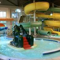 On Site Indoor Water Park At Hampton Inn New Hampshire