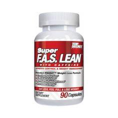 Top Secret Nutrition Super Fas-Lean Appetite Suppressant 90 Ct