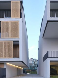 Milanofiori Housing Complex / OBR Office Building Architecture, Interior Architecture, Railing Design, Environment Design, Architectural Elements, Condominium, Exterior, House Design, Photograph