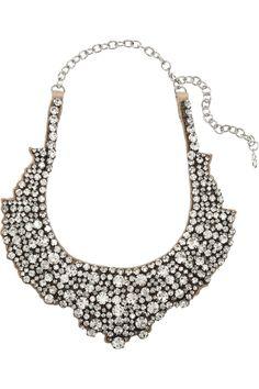 Valentino|Swarovski crystal necklace|NET-A-PORTER.COM