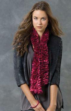 Strickmuster für Mariettas Schal