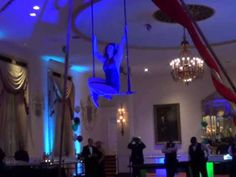 Gwynne's Static Trapeze Act NYE 2013