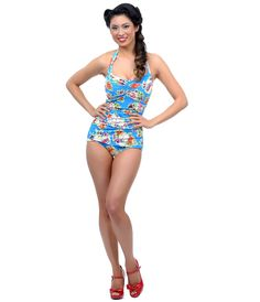 8964f6213072d Unique Vintage. Vintage Style SwimsuitVintage Bathing SuitsVintage  SwimsuitsFifties ...
