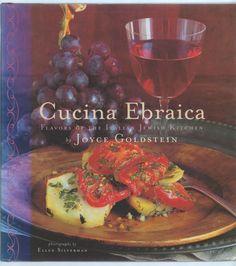 A kosher Jewish Italian cookbook. Cucina Ebraica by Joyce Goldstein, https://11main.com/cortezhillbooksellers/cucina-ebraica-by-joyce-goldstein/p/2352960