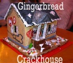 Some totally wrong (but hilarious) gingerbread houses, haha Doug Funnie, Haha Funny, Funny Stuff, Funny Shit, Funny Things, Random Things, Random Stuff, That's Hilarious, Funniest Things