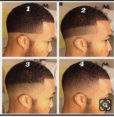 22 Ideas For Haircut Fade Curly Mens Cuts Fade Haircut Styles, Hair And Beard Styles, Curly Hair Styles, Black Men Haircuts, Black Men Hairstyles, Waves Hairstyle Men, Barber Tips, Black Hair Cuts, Barber Haircuts