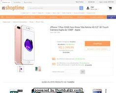 [Shoptime] iPhone 7 Plus 32gb Ouro Rosa - Cartao Loja R$ 2.889,99 Boleto R$ 3.059,99