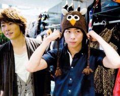 aiba masaki + Sakurai Sho 櫻井 翔 Mickey Mouse, Handsome, Album, Guys, Disney Characters, People, Kawaii, Pairs, Sons
