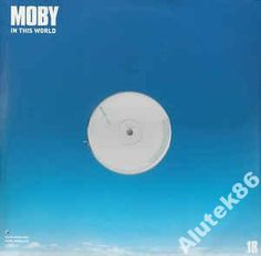 Moby  In This World  2 XLP   PROMO