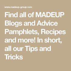 Find all of MADEUP Blogs and Advice Pamphlets, Recipes and more! In short, all our Tips and Tricks Auryn, Child Development, Parenting, Advice, Math Equations, Tips, Blog, Recipes, Humor