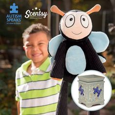 Amazing Scentsy Piece by piece warmer and buddy! Lets raise some awareness on Autism #AutismSpeaks