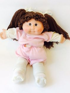 Vintage 1980's Cabbage Patch Kid Doll Xavier by chrisaliciavintage
