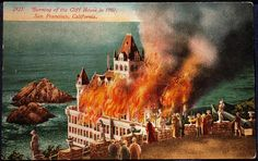 Cliff House Fire in 1907