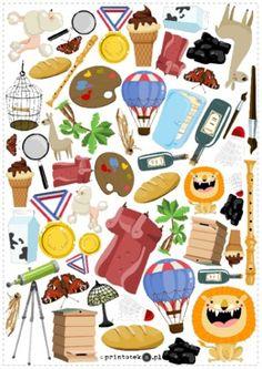 Znajdź i policz – głoska [l]. Wersja kolorowa - Printoteka.pl Idioms, Clip Art, Printables, Education, Logos, Speech Language Therapy, June, Projects, Print Templates