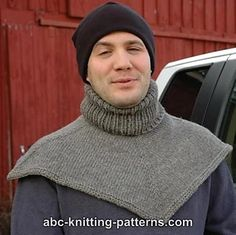 ecf78718190 Ravelry  Biker s Cowl   Dickie pattern by Elaine Phillips Chandail Pour  Hommes