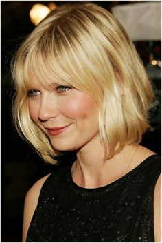 Medium Length Bob Hairstyle: Short Haircuts for Round Face