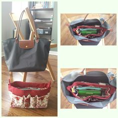 Bought this organizer for my Longchamp on Etsy and love it! Now I can find everything in my bag.