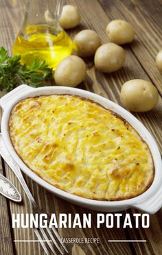 Michael Symon made a Hungarian Potato Casserole recipe on The Chew.  http://www.foodus.com/chew-michael-symons-hungarian-potato-casserole-recipe/