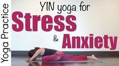 Yoga Yin para reduzir o Stress e Ansiedade - 30 minutos é a proposta de hoje para reduzir o stress e a ansiedade.Aprenda a aplicar a respiração com a meditação através de posturas de yoga, para relaxar e eliminar a tensão do dia-a-dia.