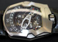 Urwerk UR-210 Watch Hands-On