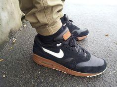 Nike Air Max 1 - Black/Hazelnut