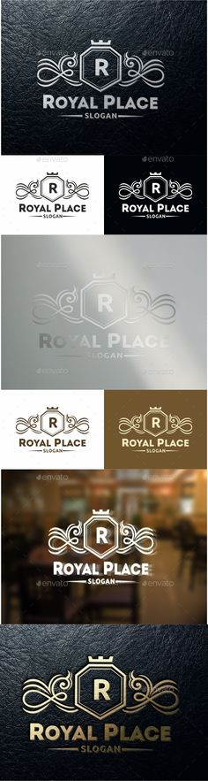 Royal Place Logo Template #design #logotype Download: http://graphicriver.net/item/royal-place-/10954047?ref=ksioks