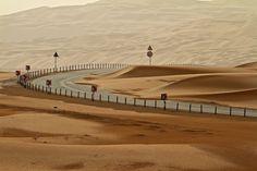 Liwa Desert, United Arab Emirates   Photo by David Wyllie