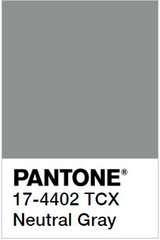 PANTONE 17-4402 Neutral Gray - Нейтральный Серый