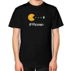 IPAcman Craft Beer Unisex T-Shirt in Black - Part of the Retro Game Collections @ Staunchly Craft