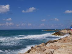 The beaches in Israel are incredible. Miles and miles of shore line run around Tel Aviv. Pristine white beaches with nice hotels and restaurants along the way. There is a beautiful promenade built along the length of the beach running to Old Jaffa.