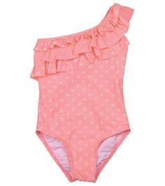 Hula Star Girls' Mini Bow One Piece (4-6X) #surfoutlet