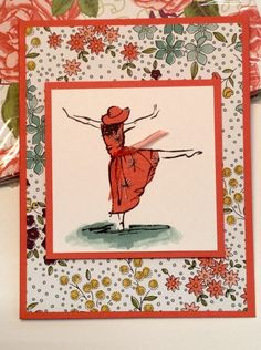 Beautiful You & Wildflower Fields Designer Series Paper Umbrella Cards, Umbrella Girl, Card Making Inspiration, Making Ideas, 123 Cards, Birthday Cards For Women, Stamping Up Cards, Get Well Cards, Card Patterns