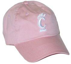 CINCINNATI BEARCAT UC PINK RELAXER SLOUCH CROWN ADJUSTABLE HAT/CAP NEW